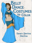 Coloring Book by Dawn Devine ~ Davina
