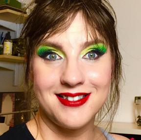 Makeup-Green-Yellow-Eyeshadow-Davina