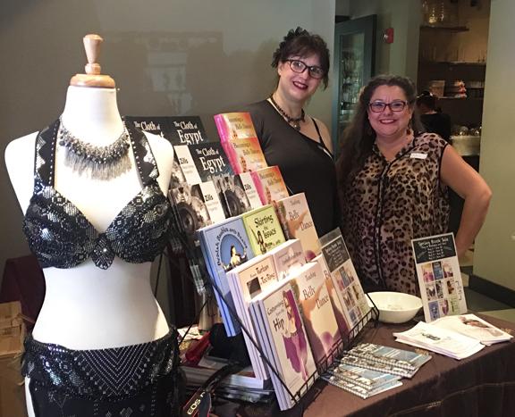 Dawn Devine ~ Davina and co-author Sara Shrapnell